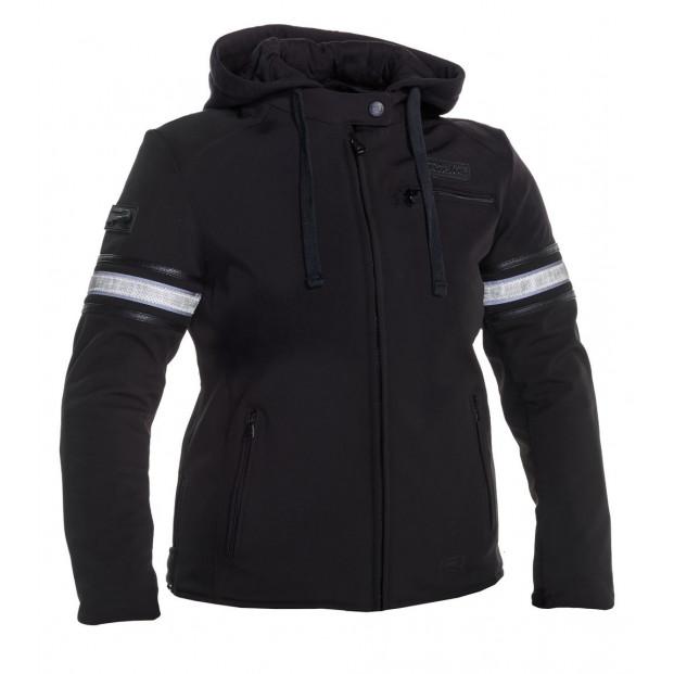 Куртка RICHA TOULON 2 SOFTSHELL WP LADY BLACK