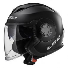Шлем LS2 OF570 Verso Solid Black