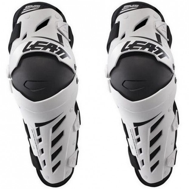 Наколенники Leatt Knee & Shin Guard Dual Axis White Black