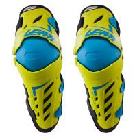 Наколенники Leatt Knee & Shin Guard Dual Axis Lime Blue