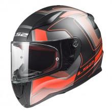 Шлем LS2 FF353 Rapid Carrera Matt Black Red