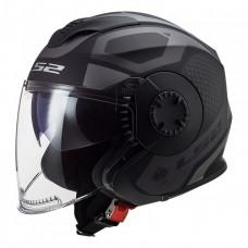 Шлем OF570 VERSO Solid Marker Matt Black Titanium