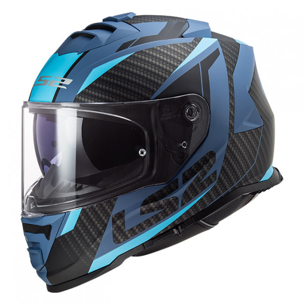 Шлем LS2 FF800 Storm Racer Matt Blue