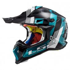 Шлем LS2 MX470 Subverter Max Black Turquoise