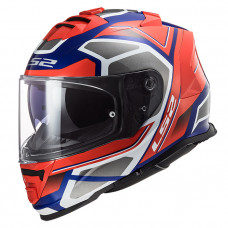 Шлем LS2 FF800 Storm Faster Red Blue