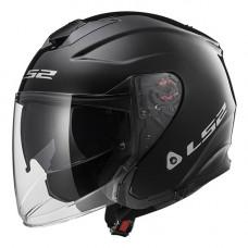 Шлем LS2 OF521 Infinity Solid Black