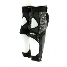 Наколенники с защитой голени и колена LEATT KNEE & SHIN GUARD 3DF HYBRID EXT BLACK/WHITE