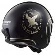 Шлем LS2 OF599 Spitfire Flier Black