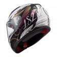 Шлем LS2 FF353 Rapid Boho White Black Pink