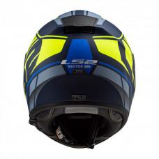 Шлем LS2 FF397 Vector HPFC Evo Kripton Matt Blue H-V Yellow