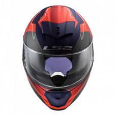 Шлем LS2 FF390 BREAKER Beta Matt Red Blue