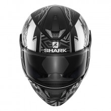 Шлем Shark Skwal 2 Noxxys Matt Black Anthracite Silver