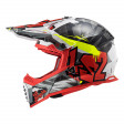 Шлем LS2 MX437 Fast Evo Crusher Black Red