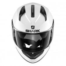 Шлем Shark Ridill Blank White Azure