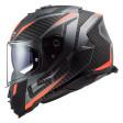 Шлем LS2 FF800 Storm Racer Matt Titanium Fluo Orange