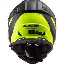 Шлем LS2 MX436 PIONEER EVO Router Matt Black HV Yellow