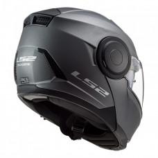 Шлем модуляр LS2 ff902 SCOPE Solid Matt Titanium