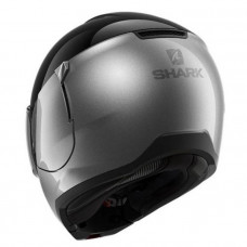 Шлем модуляр Shark EVOJET DUAL Blank Black/Grey