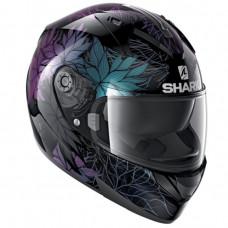 Шлем SHARK Ridill 1.2 NELUM Black/Glitter/Black